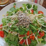Ginger & Hemp Dressing for Kitchen Sink Salad