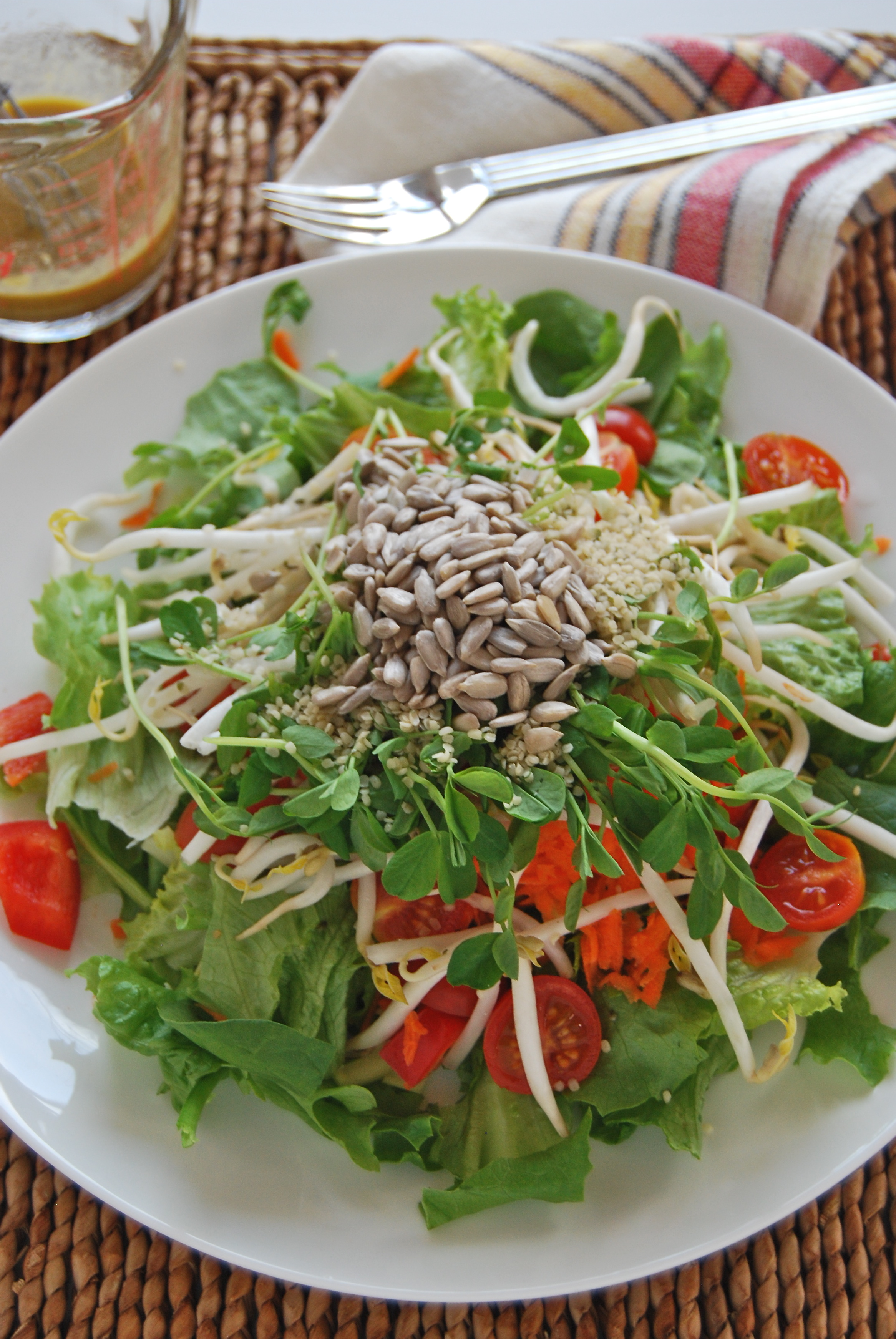 Ginger Hemp Dressing for the Kitchen Sink Salad Benefits of Good