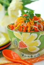 Carrot, Jicama & Sweet Pepper Slaw