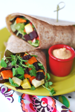 Roasted Root Wrap