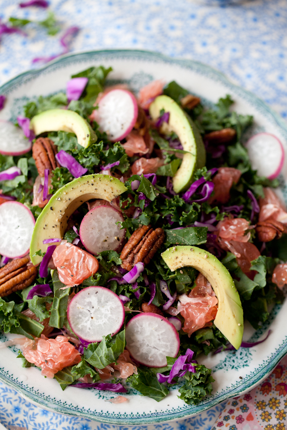 Kale Pomelo & Pecan salad (2 of 7)